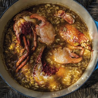 Juicy europeam lobster rice   photofrancesc guillamet